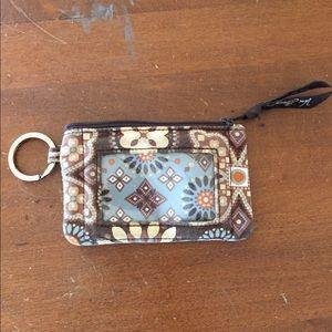 Vera Bradley Keychain coin purse